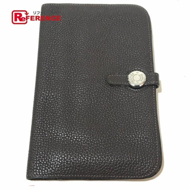 e899b992041f あす着 HERMES エルメス ドゴンGM コインケース付き 二つ折り財布(小銭入れあり