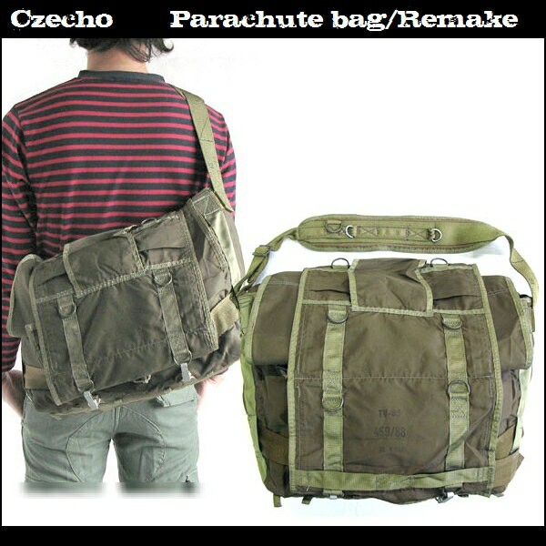 eff5a7ce0cd2 【Czecho Parachute Bag】バッグ/鞄 ミリタリー/アーミー メッセンジャーバッグ チェコ軍/