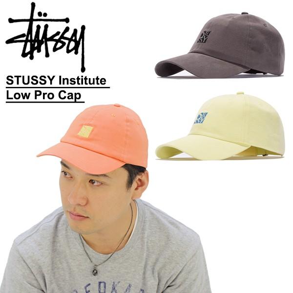 54b6ecd810a ステューシー(STUSSY)STUSSY Institute Low Pro Cap キャップ 帽子 BB の ...