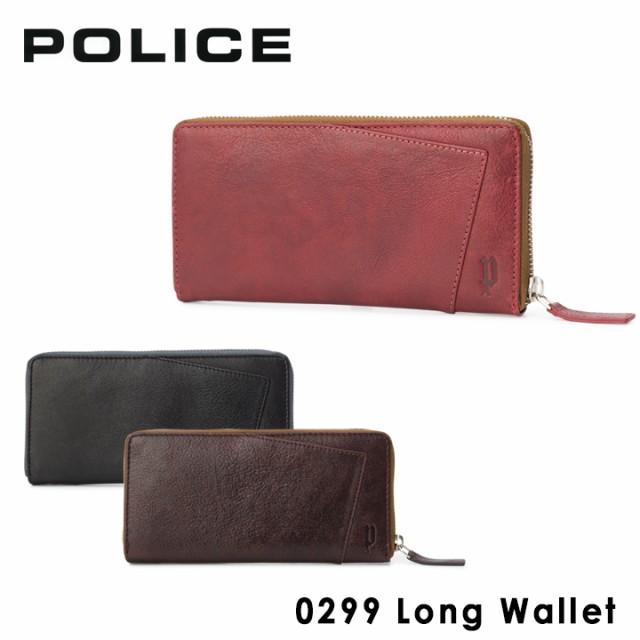 5cbe4546454f ポリス POLICE ラウンド長財布 PA59703 (0299) TIPICO ティピコ 札入れ カードケース 小銭入れ