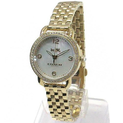 539a35d8d4f5 コーチ 時計 レディース COACH アウトレット デランシー レディース ウォッチ ゴールド 腕時計 14502478