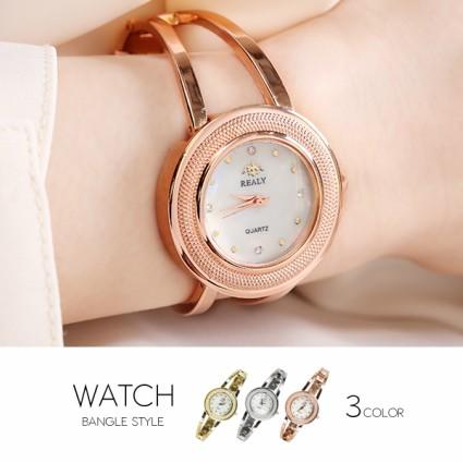 eb0e81fa1f91f 腕時計 レディース レディース腕時計 ブレスレットウォッチ キラキラ 安い おしゃれ プレゼント Jewel ジュエル バングル風