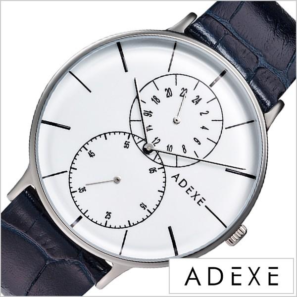 finest selection bbb46 8e494 ADEXE 腕時計 アデクス 時計 グランデ GRANDE メンズ 防水 男性 大学生 ホワイト 1868D-02|au Wowma!(ワウマ)