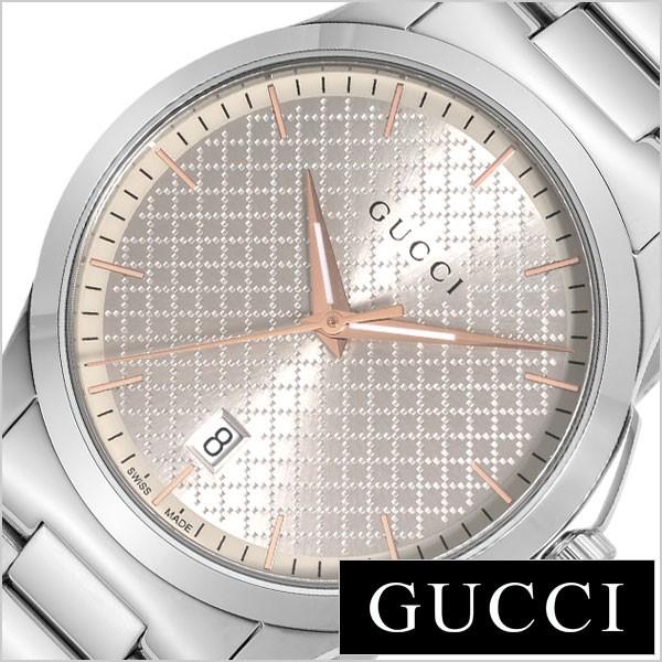 e0e7da5945e9 グッチ腕時計 GUCCI時計 GUCCI 腕時計 グッチ 時計 Gタイムレス G-TIMELESS メンズ シルバー YA1264052