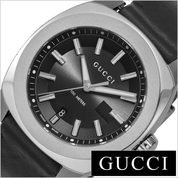 d403d4470441 グッチ腕時計 GUCCI時計 GUCCI 腕時計 グッチ 時計 GG2570 メンズ ブラック YA142206