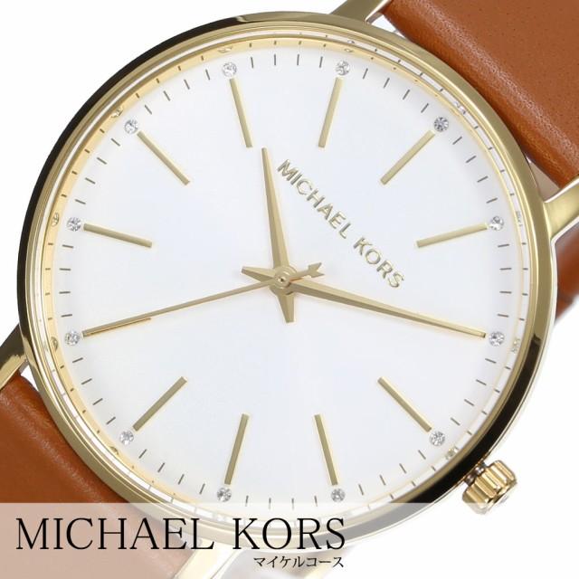 5d7c944e5bcc マイケルコース腕時計 MichaelKors時計 Michael Kors 腕時計 マイケル コース 時計 パイパー PYPER レディース シルバー  MK2740