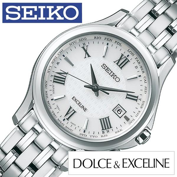 c7e1c3925aa1 SEIKO 腕時計 セイコー 時計 ドルチェ アンド エクセリーヌ Dolce and Exceline レディース シルバー SWCW161