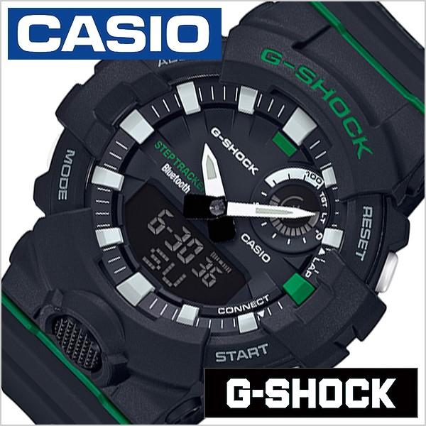 super popular fd8d6 09dc1 CASIO 腕時計 カシオ 時計 Gショック ジースクワッド G-SHOCK G-SQUAD メンズ ブラック GBA-800DG-1AJF|au  Wowma!(ワウマ)