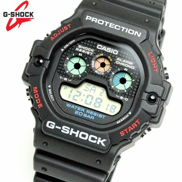 278154daae カシオ CASIO G-SHOCK ジーショック 腕時計 メンズ 復刻 限定モデル ブラック レッド DW-