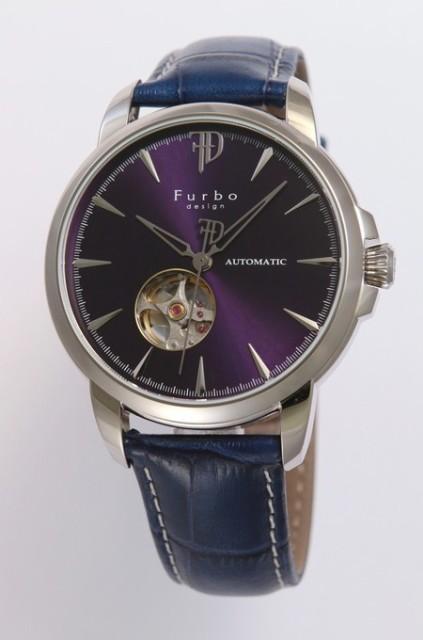255cf110ae フルボデザイン Furbo design 腕時計 メンズ ウォッチ ブランド 日本製自動巻き 機械式時計 スケルトン