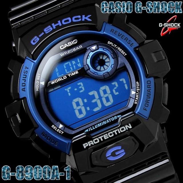 f050056e99 CASIO G-SHOCK 腕時計 デジタル 時計 G-8900A-1 カシオ Gショック【激安 ...