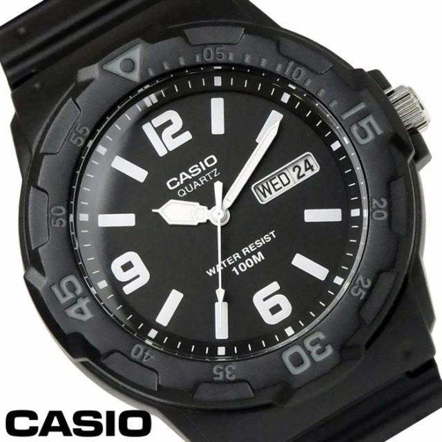 e0fdf1c7ea チプカシ 腕時計 アナログ CASIO カシオ チープカシオ メンズ MRW-200H-1B2 ブラック グレー【