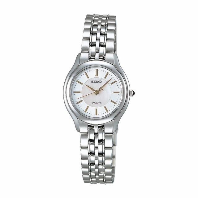 941a4d4145 セイコー エクセリーヌ レディース腕時計 クオーツ SWDL099 白蝶貝 国内正規品 取り寄せ