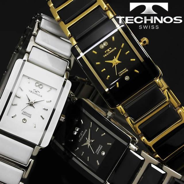 new style c191b d2647 腕時計 レディース 時計 テクノス 防水 TECHNOS セラミック ...