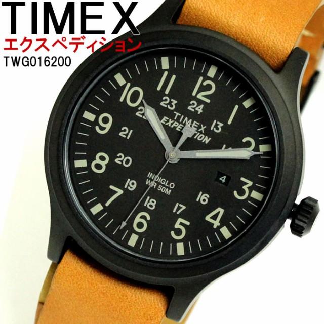 4511ce4064 タイメックス TIMEX 腕時計 ウォッチ メンズ 替えベルト付 TWG016200 エクスペディション Expedition クォーツ 【激安】
