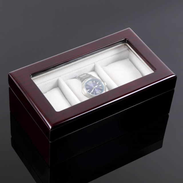 save off fb079 b17a0 ウォッチボックス 木製腕時計収納ケース 腕時計ケース ウォッチ ...