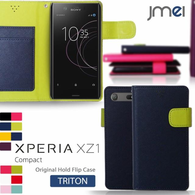 58a3630c59 Xperia XZ1 Compact SO-02K ケース 手帳 エクスペリア xz1 コンパクト カバー 閉じたまま通話