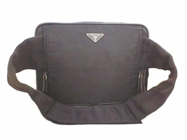 e69390f1bfed 極美品 PRADA プラダ ナイロン 3WAY ウエストバッグ ボデイバッグ ハンドバッグ