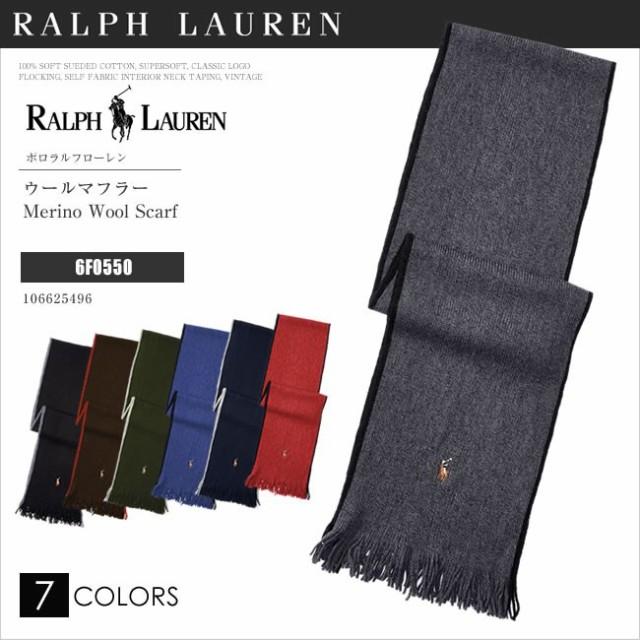 e6c03f7f6770 POLO RALPH LAUREN ポロ ラルフローレン マフラー スカーフ Merino Wool Scarf 6F0550