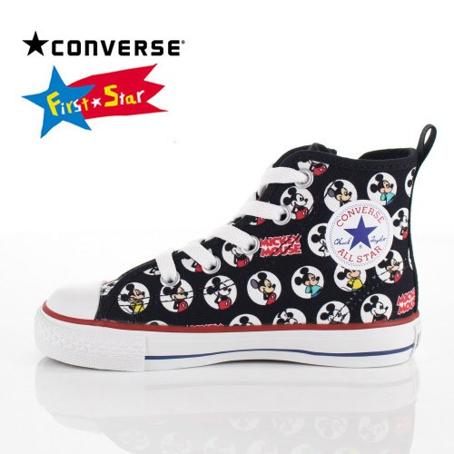 5d850b3023e8b7 コンバース CONVERSE キッズ スニーカー CHILD ALL STAR N MICKEY MOUSE HM Z HI ミッキーマウス  3CL276