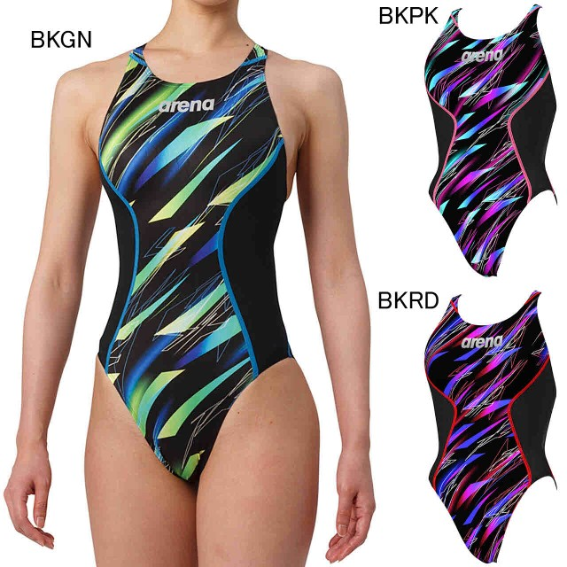8471e10e727 アリーナ 水泳 水球 競泳用水着 一般用 レディース リミック クロスバック FINA承認モデル arena