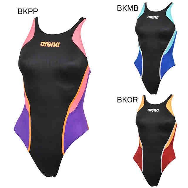 8ef72b4024e アリーナ 水泳 水球 競泳用水着 レース用 レディース リミック クロスバック arena ARN-L7031W