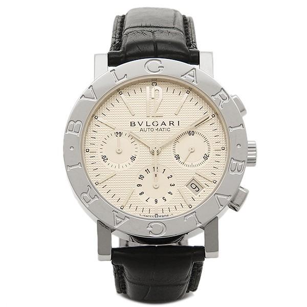 size 40 8cf4a 835c0 ブルガリ 時計 メンズ BVLGARI BB38WSLDCH ブルガリ ブルガリ クロノグラフ 腕時計 ウォッチ ホワイト/シルバー/ブラック|au  Wowma!(ワウマ)