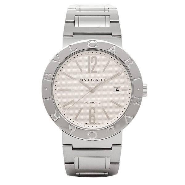 0500e0db1b9a ブルガリ 時計 メンズ BVLGARI BB42WSSDAUTO ブルガリブルガリ 自動巻き 腕時計 ウォッチ ホワイト/シルバー