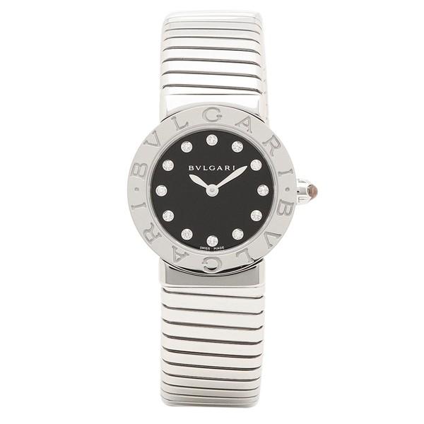 9d05dcc33373 ブルガリ 腕時計 レディース BVLGARI BBL262TBSS/12.M ブラック シルバー ...