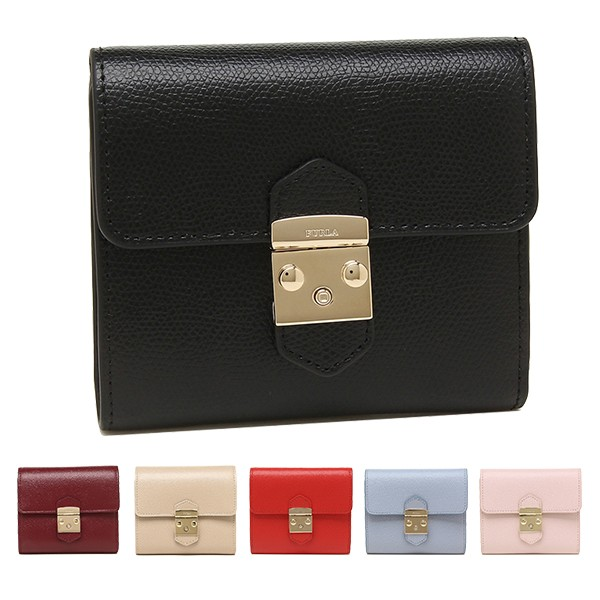 フルラ 財布 二つ折り財布 レディース メトロポリス FURLA PU28 CO2 女性 プレゼント