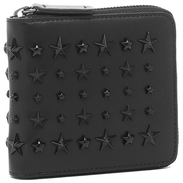 ジミーチュウ 二つ折り財布 ローレンス ブラック メンズ JIMMY CHOO LAWRENCELTJ 14503780【返品OK】