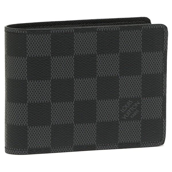 ルイヴィトン LOUIS VUITTON 財布 N62663 ダミエグラフィット ポルトフォイユ・ミュルティプル 2つ折り財布