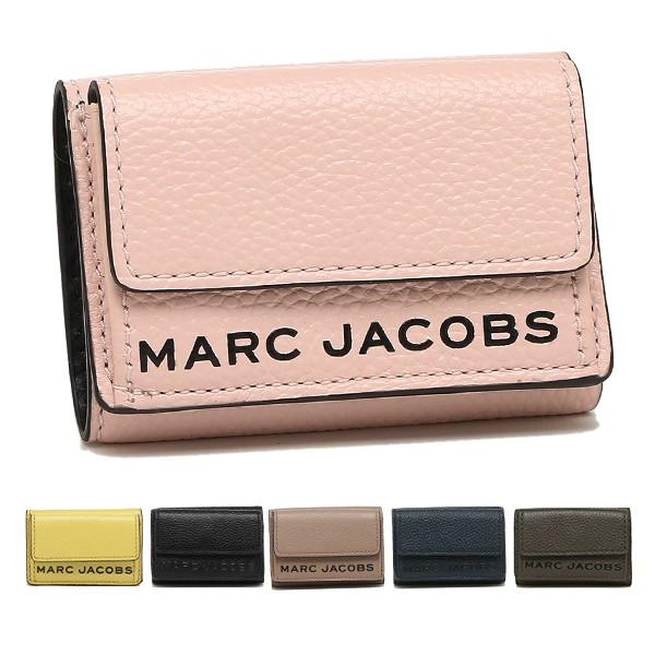 マークジェイコブス 財布 二つ折り財布 テクスチャードボックス ミニ財布 レディース MARC JACOBS M0015111