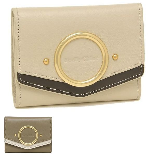 シーバイクロエ 財布 三つ折り財布 アウラ レディース SEE BY CHLOE CHS19AP889565