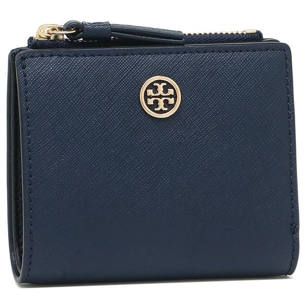 トリーバーチ 折財布 レディース TORY BURCH 47124 403 ネイビー ブラック