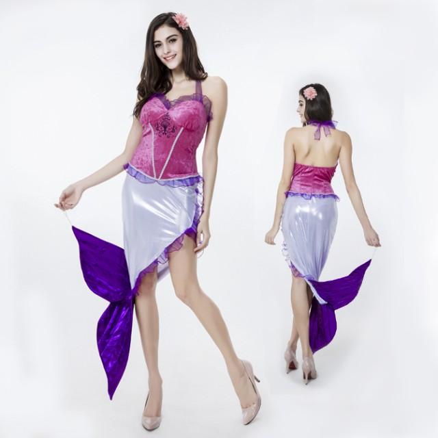 3d65aa9c41f45 ハロウィン 人魚 人魚姫 童話 マーメイド コスプレ衣装 ps2484