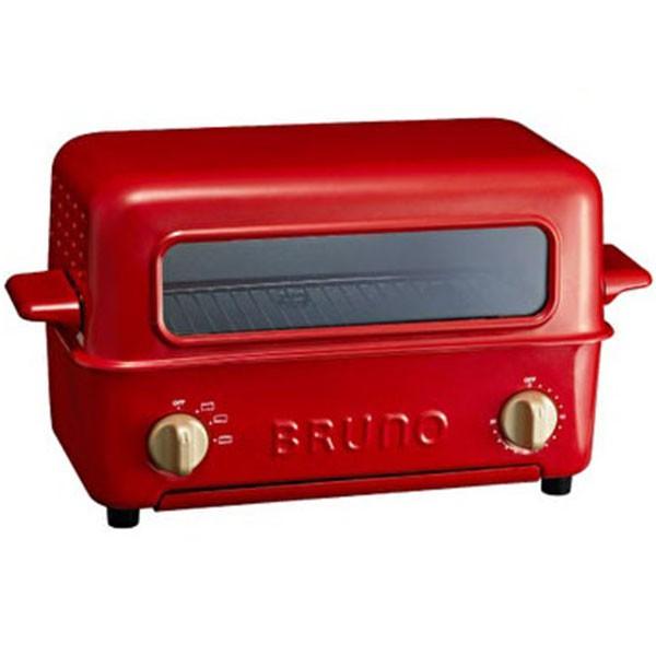 【BR0】ブルーノ BOE033-RD トースターグリルレッド