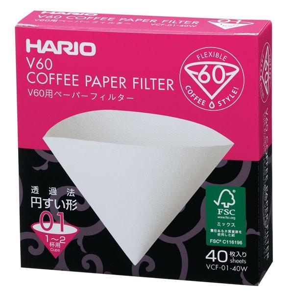 ハリオ(V60)  V60用ペーパーフィルター 01W VC...