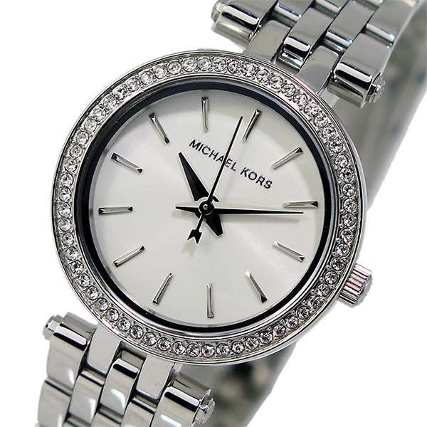 dca9f30b0cf3 腕時計 レディース マイケルコース クオーツ MK3294 ホワイトの通販は ...