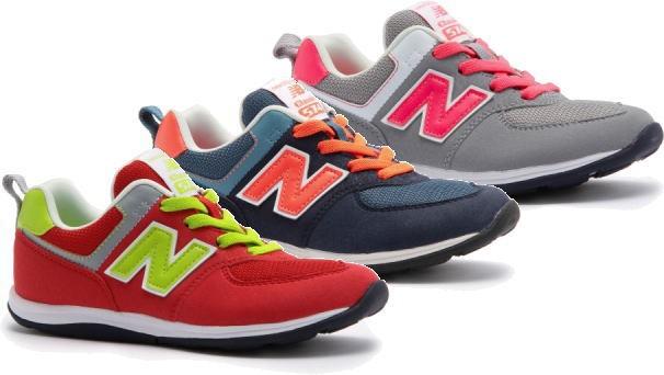 7c0830f97e48f (A倉庫)new balance ニューバランス NB KS574 子供靴 スニーカー キッズ スリッポン 男の子 女の子