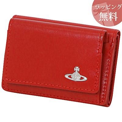 c0e9e789e152 ヴィヴィアンウエストウッド 財布 折財布 三つ折り ヴィンテージ WATER ORB レッド Vivienne Westwood