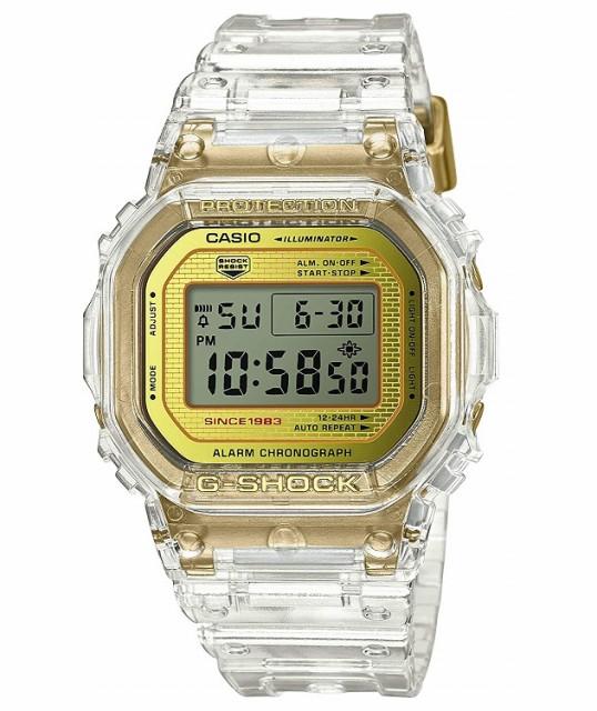 【新品】注文後2,3日発送 カシオ Gショック CASIO G-SHOCK 35周年記念モデル グレイシアゴールド 腕時計 DW-5035E-7JR