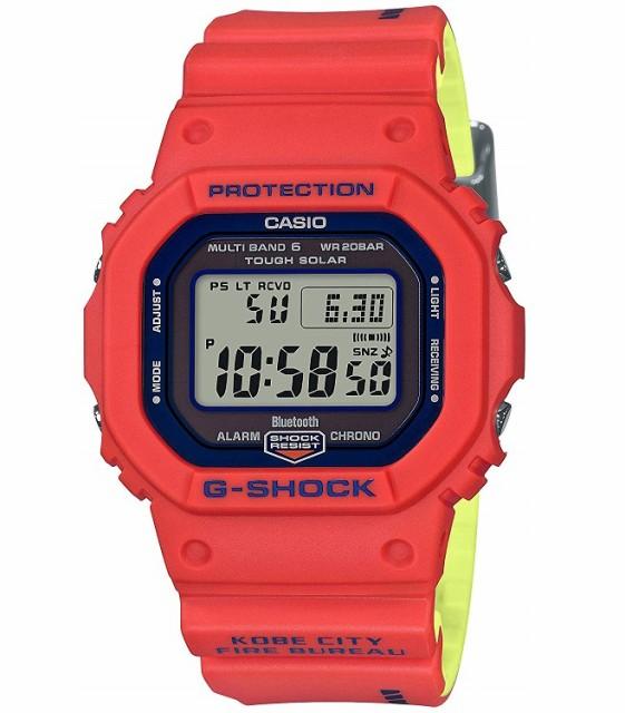 【新品】【即納】G-SHOCK デジタル 5600 Gショック CASIO 神戸市消防局 救助隊50周年 腕時計 メンズ GW-B5600FB-4JR