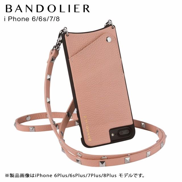 f45d3080ab BANDOLIER バンドリヤー iPhone8 iPhone7 6s ケース スマホ アイフォン SARAH BLUSH メンズ レディース