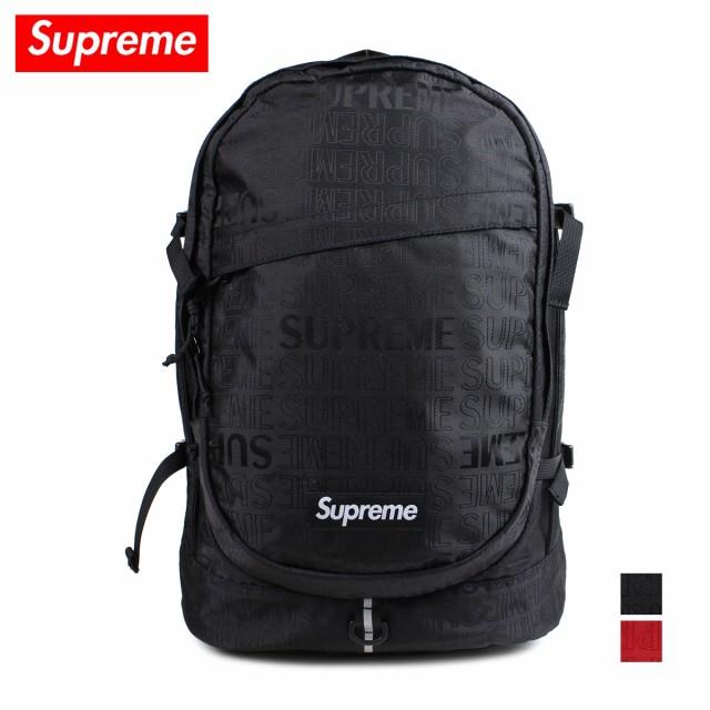 bdfa6a2316 シュプリーム Supreme リュック バッグ バックパック メンズ レディース 25L BACKPACK ブラック レッド 黒