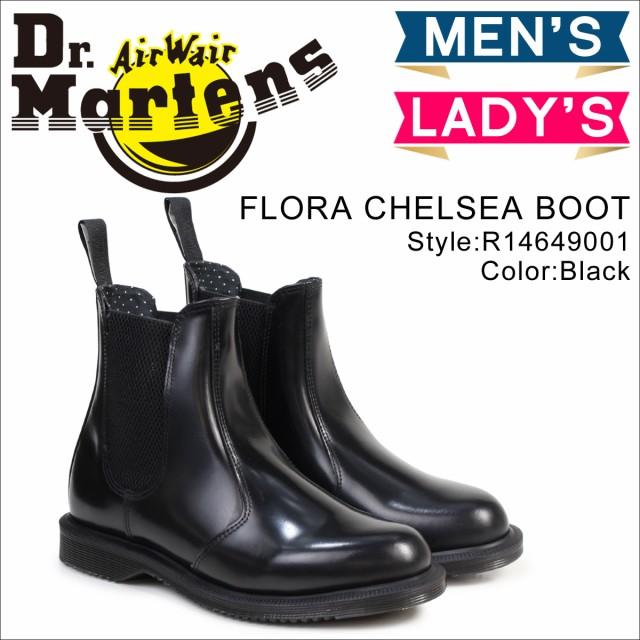 ドクターマーチン サイドゴア レディース メンズ Dr.Martens ブーツ チェルシーブーツ FLORA CHELSEA B