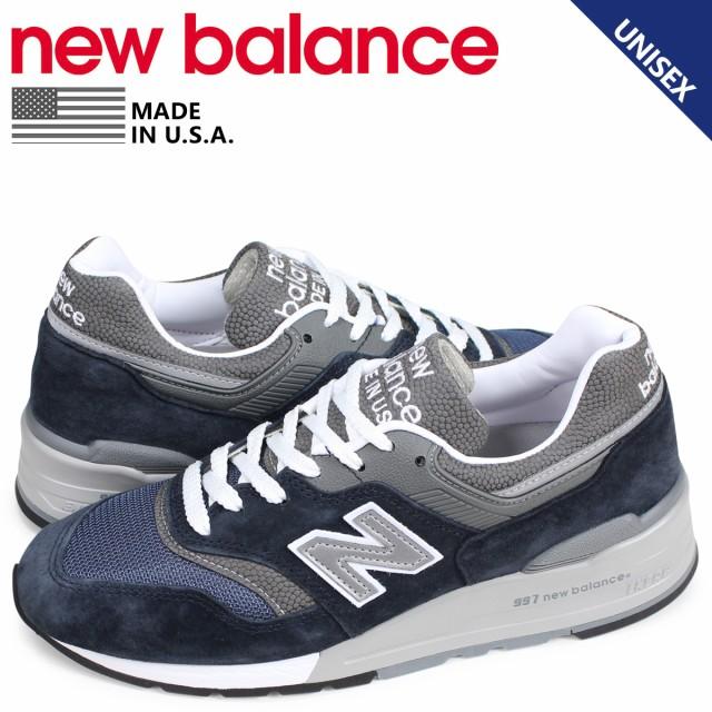 d6667d746fa41 ニューバランス new balance 997 スニーカー メンズ レディース Dワイズ MADE IN USA ネイビー M997NV
