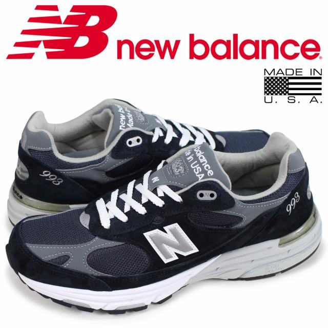 101ff98eb11ba ニューバランス new balance 993 メンズ スニーカー MR993NV Dワイズ MADE IN USA ネイビー 6/25