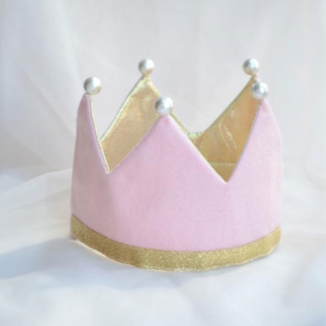 5f7a8f6bfc9c3 BB バースデークラウン リバーシブル ピンク キッズ 誕生日 冠 王冠 コスプレ 小道具 SNS インスタ 4580136527733