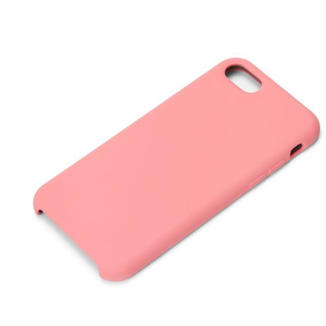 1689cb7396 iPhone8 iPhone7 用 iPhone ケース シリコンケース ピンク PGA PG-17MSC13PK